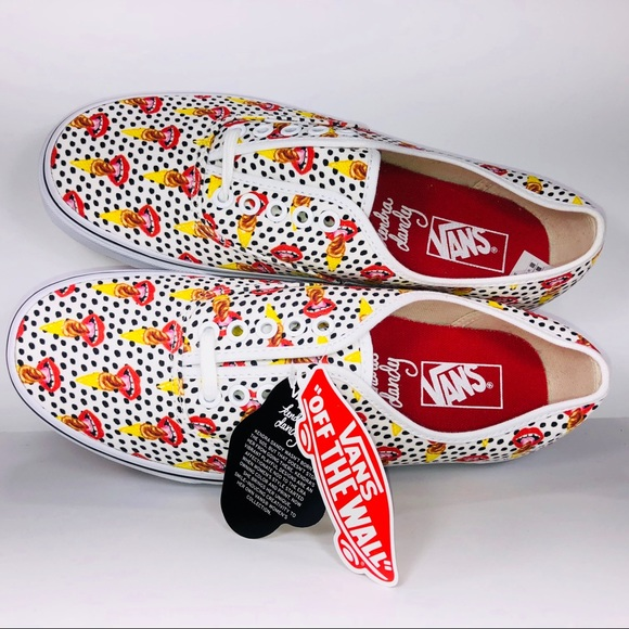 aa79065a74 Vans Authentic Kendra Dandy Scream Ice Cream Shoes